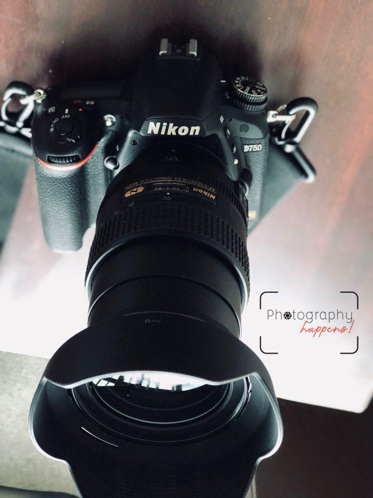 My first Nikon D750